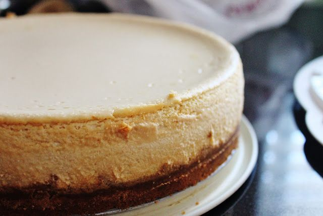 Maple Cheesecake with Gingersnap Crust | Desserts | Pinterest