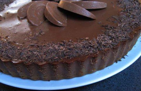 Dark Chocolate Orange Cheesecake Vi-Shake 8 oz of dark chocolate ...