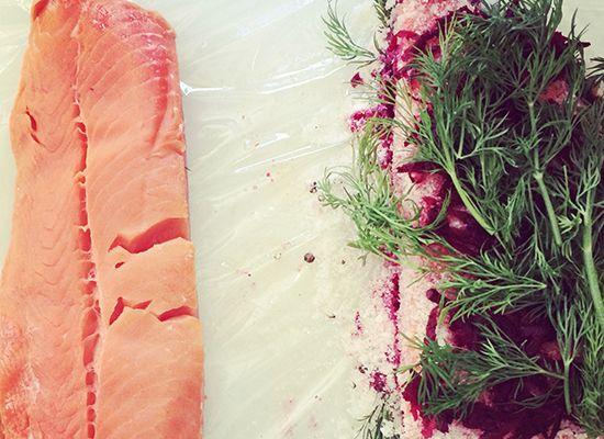 Beet Cured Gravlax | Main dish | Pinterest