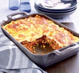 Easy beef lasagne | Healthy Food Guide | Recipes: Mains | Pinterest
