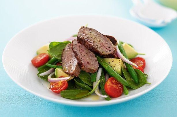 Mediterranean lamb salad | Mmmm Recipes | Pinterest