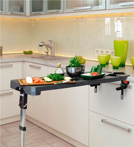 ... -Top Portable, Folding Table | Space saving and transforming furn: pinterest.com/pin/25332816627734540