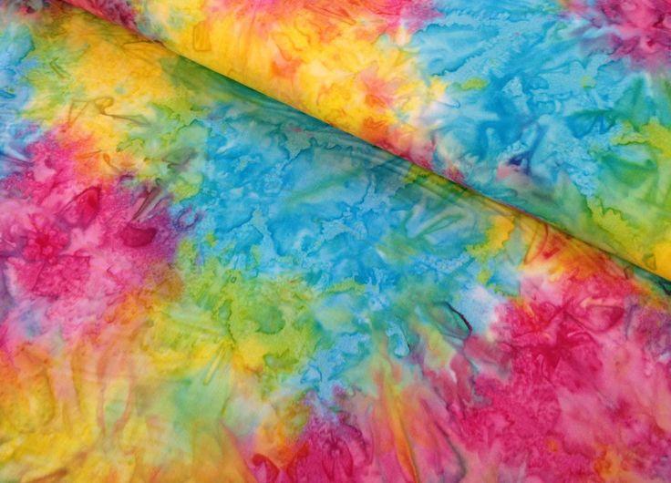 rainbow batik rainbow tie dye fabric little momma style. Black Bedroom Furniture Sets. Home Design Ideas