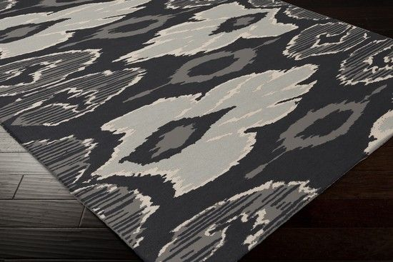 Alameda Ink hand woven rug - Patterned | Graphic - Rugs - Rugs ...