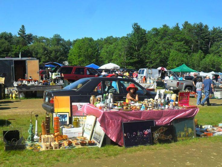 Hot day flea market new england s outdoor flea markets pin