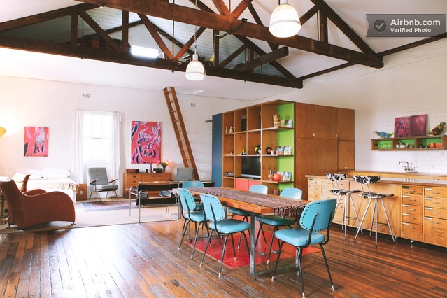 Massive warehouse loft apartment in marrickville week of 7 9 pinterest - The apartment in the warehouse ...