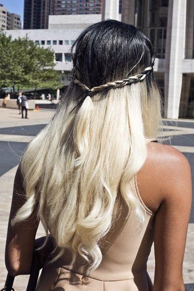 Unique Ombré Hair Color