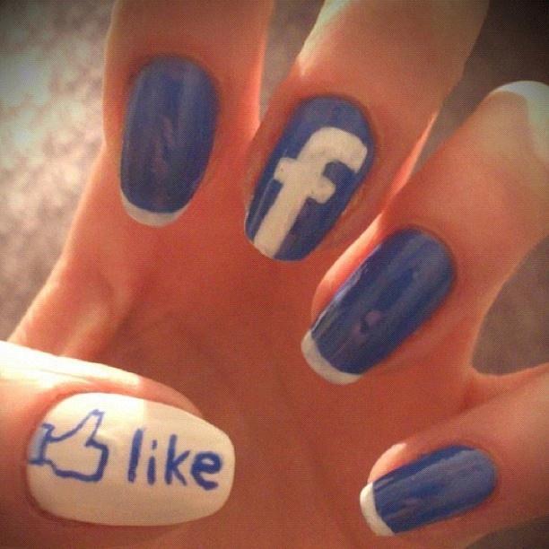 facebook nail art | nail art | Pinterest