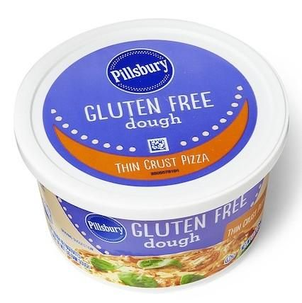 On shelves now: Pillsbury Gluten Free Thin Crust Pizza Dough. Click to ...