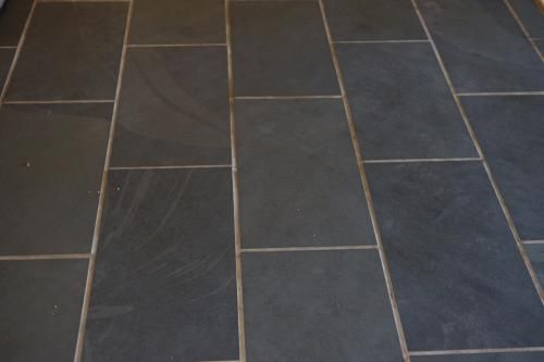 user submitted photo home depot montauk black slate floor tile 12x24
