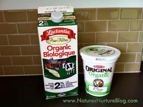 substitute plain yogurt for sour cream