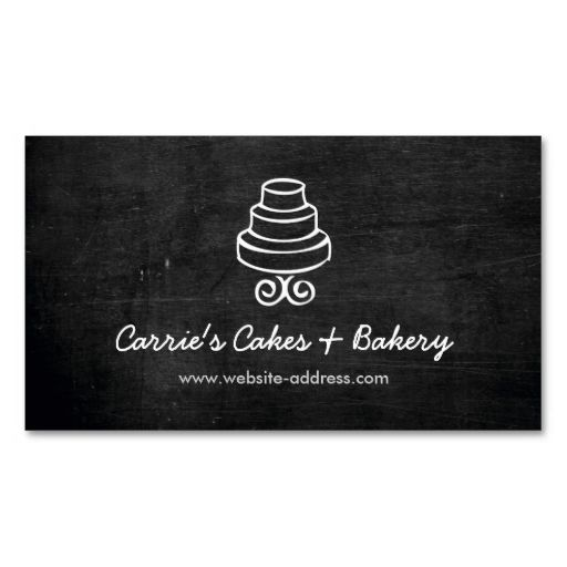 Rustic cake logo business card i love this design it is available