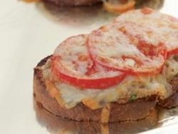 ... tuna melt right now, it's Emeril's Kicked up Tuna Melt. Very good