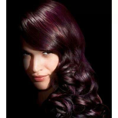 Red Violet Brown Hair Color