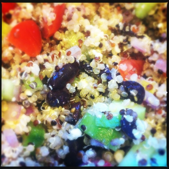 Easy quinoa salad. Yurm.   Food & Drink   Pinterest