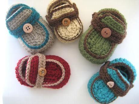 BABY CROCHET FREE MOCCASINS PATTERN | Crochet Patterns