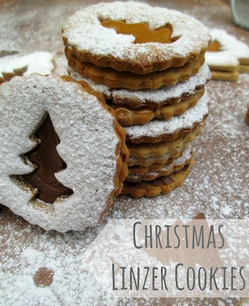 Linzer cookies | Baked | Pinterest