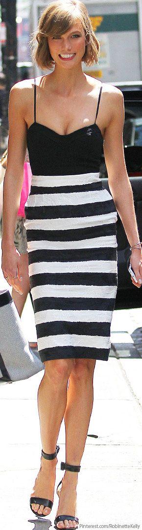 Karlie Kloss | Black and White