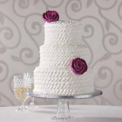 Publix Ruffle Cake M13 Pinterest