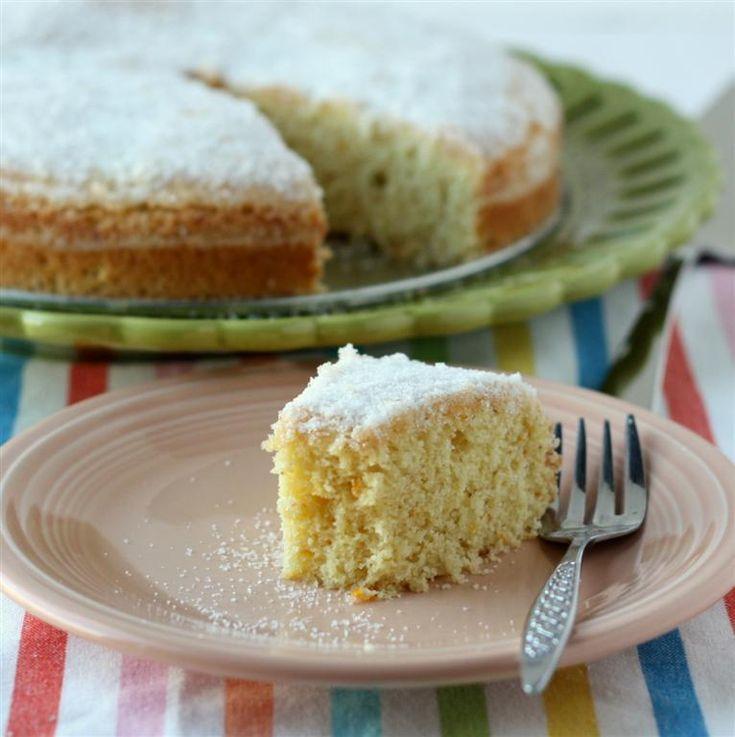 orange_cardamom_cornmeal_cake_2 | Desserts | Pinterest