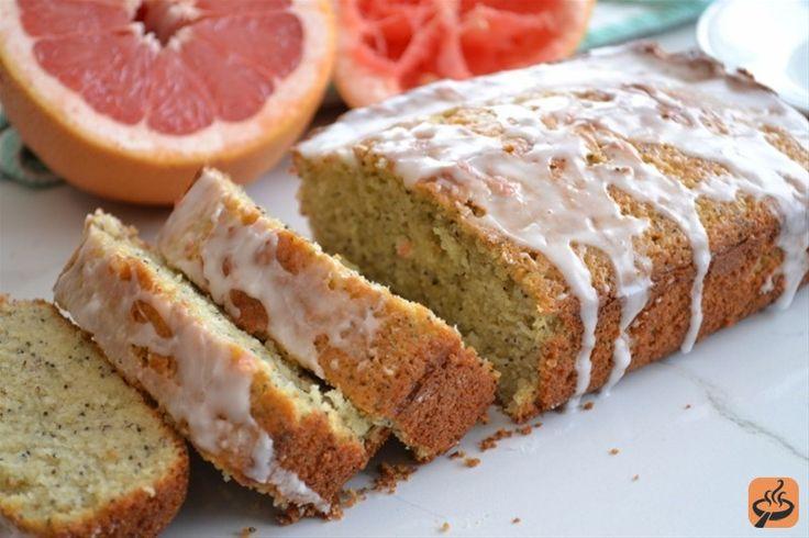 Poppyseed Grapefruit Yogurt Cake With Citrus Glaze | Recipe