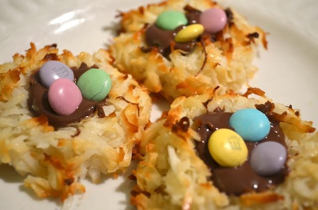 Coconut Macaroon Nutella Nests | Cookies, Cookies, and More Cookies ...
