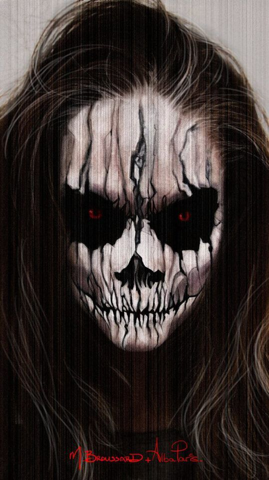 Awesome face paint Halloween&ampFantast Fest Pinterest - Amazing Halloween Face Paint