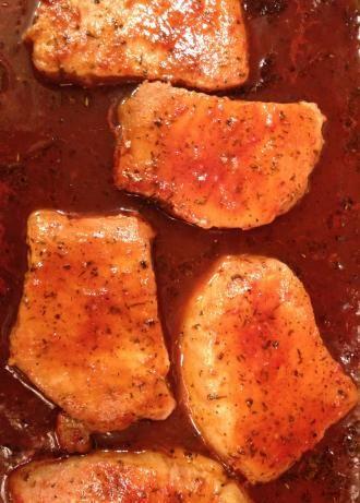 Pork Chops Vermont