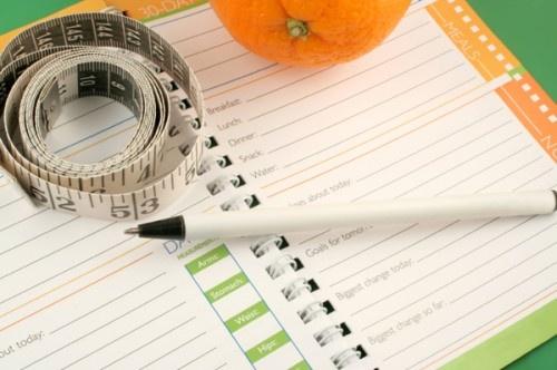 как вести дневник питания для похудения образец
