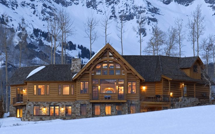 Rocky mountain delight timber style hybird homes pinterest for Rocky mountain home builders