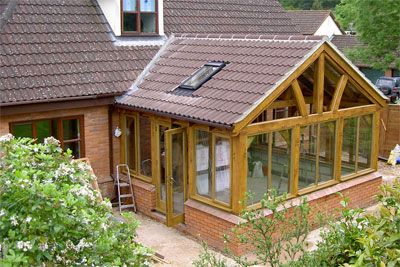 Pin by carrie heinonen on crest house inspiration pinterest for How to build a sunroom addition
