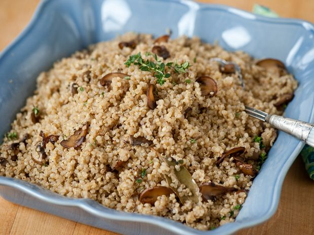 Quinoa Pilaf with Crimini Mushrooms Recipe : Food Network ...