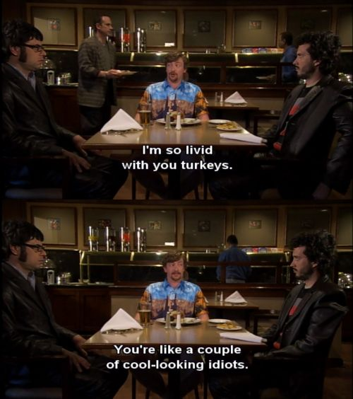 nudity in the flight of the conchords