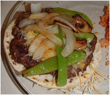 Fajita Burgers | Health Nut | Pinterest