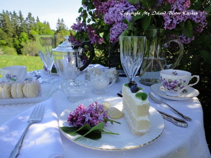 Lady Lilac Afternoon Tea