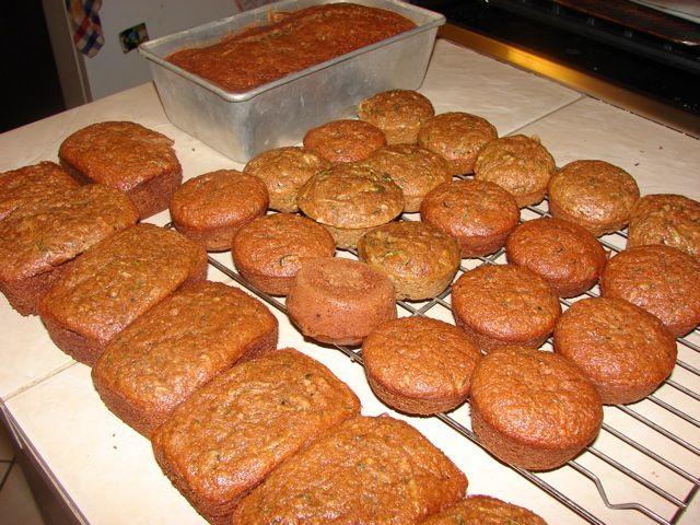 Zucchini Bread, Mini Loaves and Muffins | Recipe