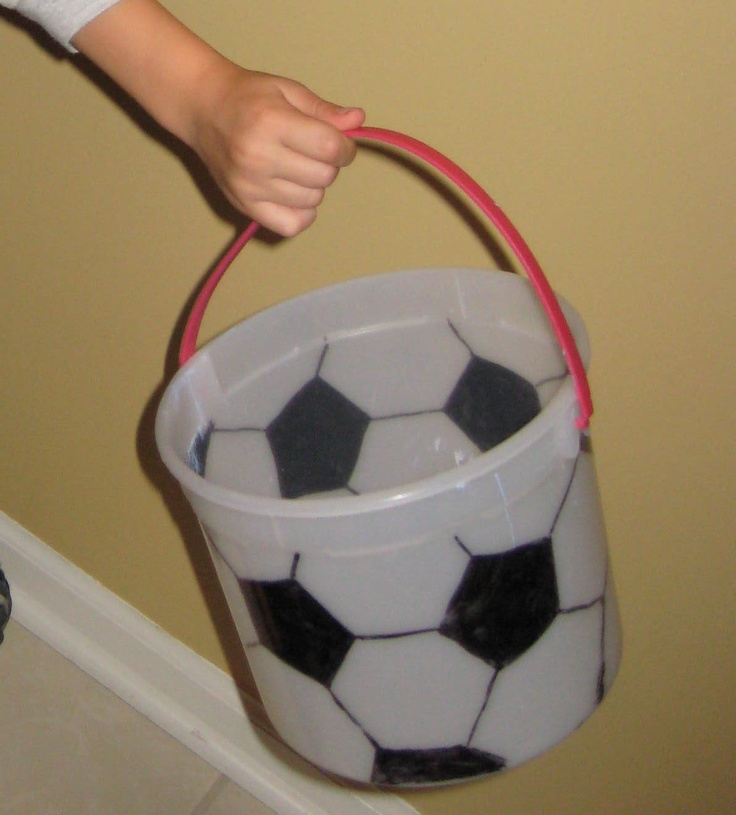 how to make a soccer ball costume
