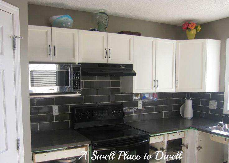 diy backsplash tile tips and tricks kitchens pinterest