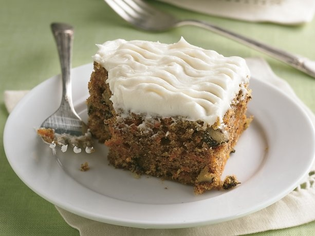 Carrot Cake with Cream Cheese Frosting - Turn this into Zucchini Cake ...