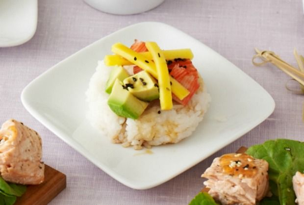 Sushi Salad Appetizers - JoyofKosher.com