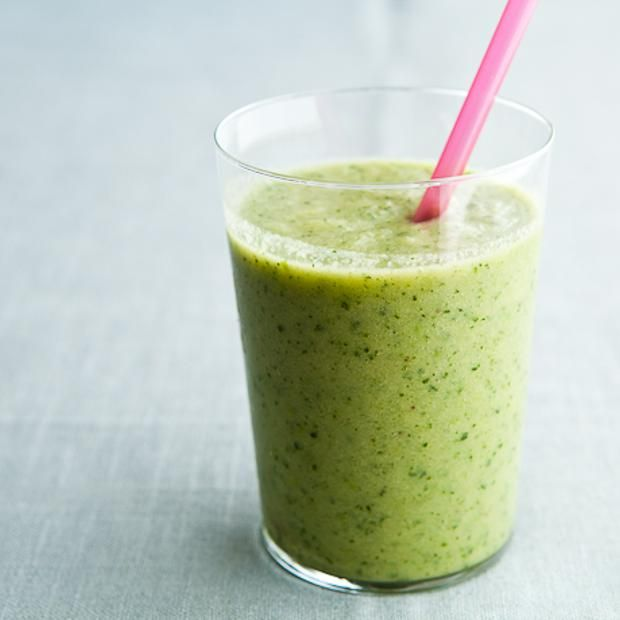 Kale-Green Apple Smoothie | Juice & Smoothies | Pinterest