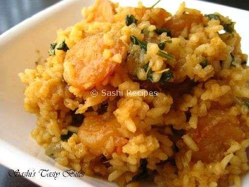 Shrimp Biryani/ Prawn Biryani | Biriyani | Pinterest