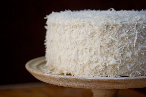 The Southern Coconut Layer Cake I created for Walt's big 3-0 (Third ...