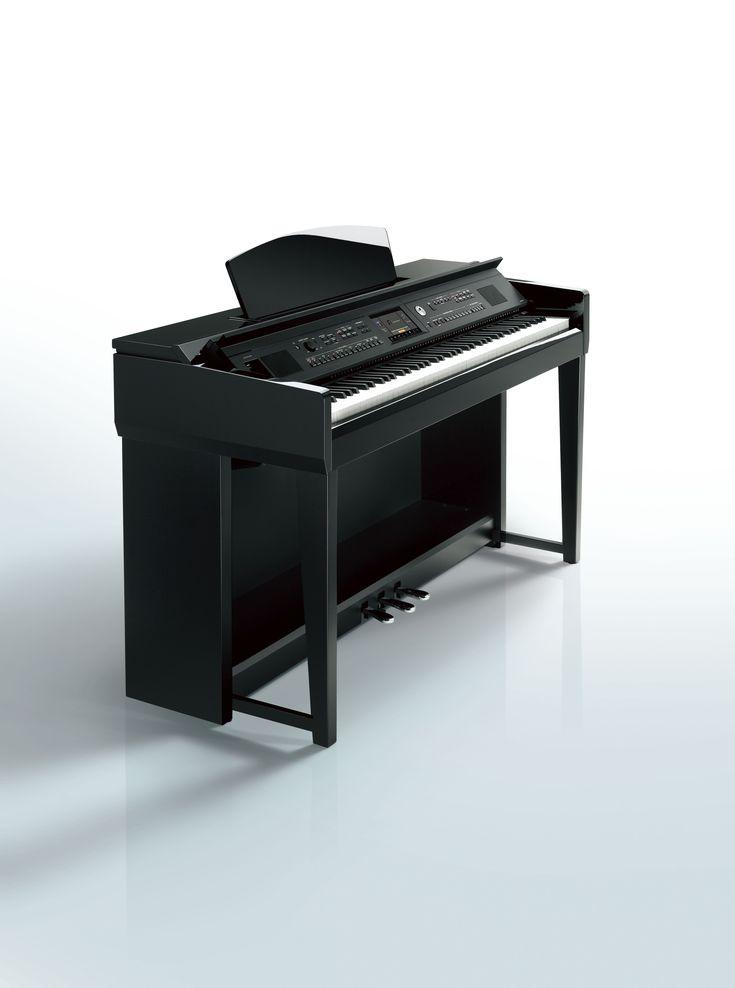 Yamaha cvp601 clavinova digital piano polished ebony for Yamaha clavinova cvp 601