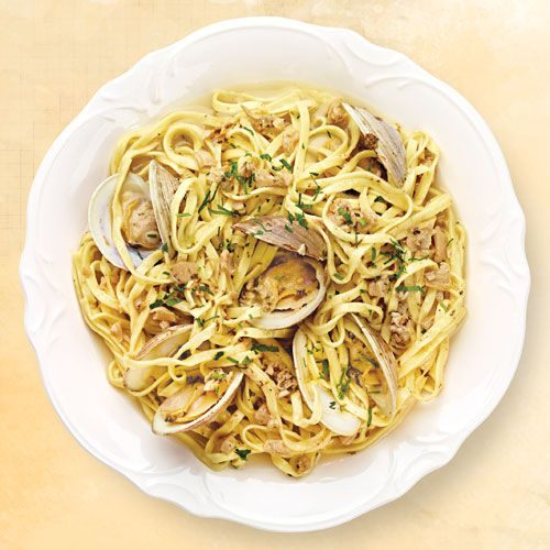 Linguine with Clam Sauce | Italianissimo | Pinterest