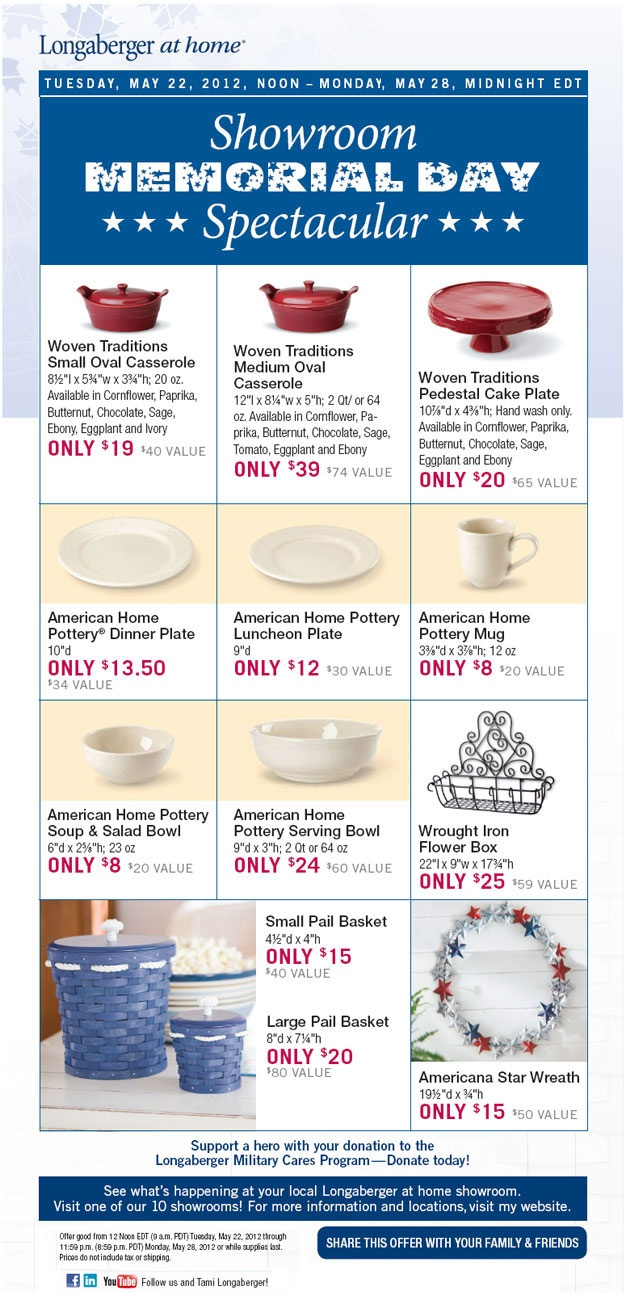 memorial day sale pottery barn