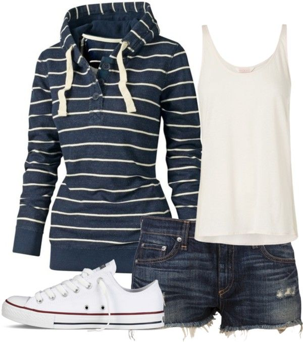 """summer nights"" by coley0622 on Polyvore- Cute!"