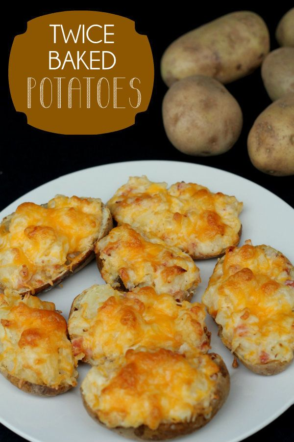 Twice Baked Potatoes. These are our favorite way to serve potatoes ...