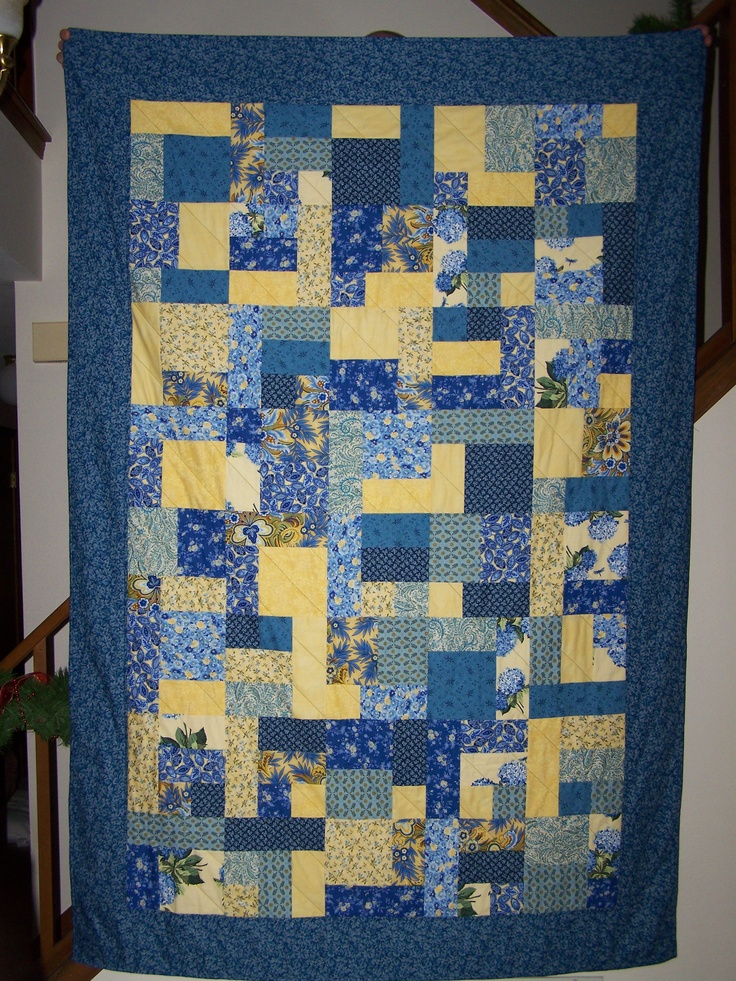 Free Quilt Pattern For Yellow Brick Road : Yellow Brick Road quilt My quilts Pinterest