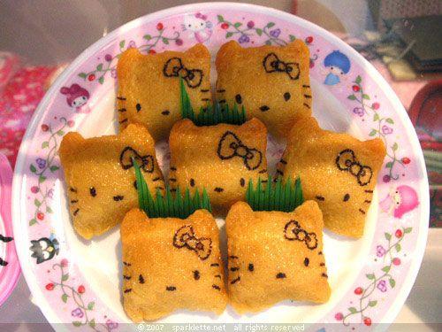 Hello kitty food hello kitty pinterest for Cuisine hello kitty